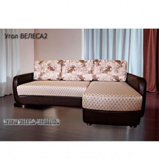 Мягкий угловой диван Велеса 2